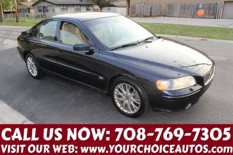 2006 Volvo S60 for sale at Your Choice Autos in Posen IL