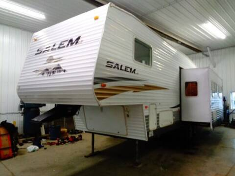 2010 SOLD SOLD SOLD Forest River Salem Le 28BHSS for sale at Goldammer Auto in Tea SD
