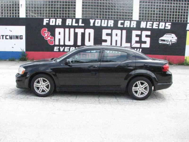 2011 Dodge Avenger for sale at C & G Auto Sales in Gary IN