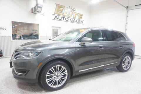 2017 Lincoln MKX for sale at Elite Auto Sales in Ammon ID