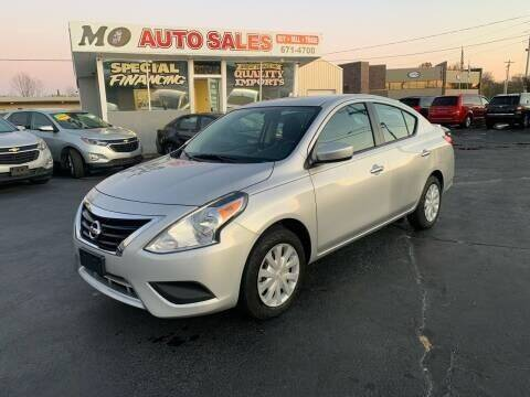 2019 Nissan Versa for sale at Mo Auto Sales in Fairfield OH
