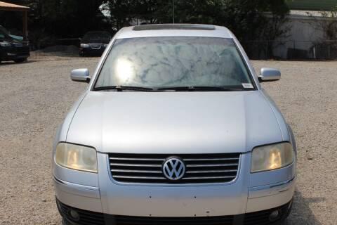 2003 Volkswagen Passat for sale at Bailey & Sons Motor Co in Lyndon KS