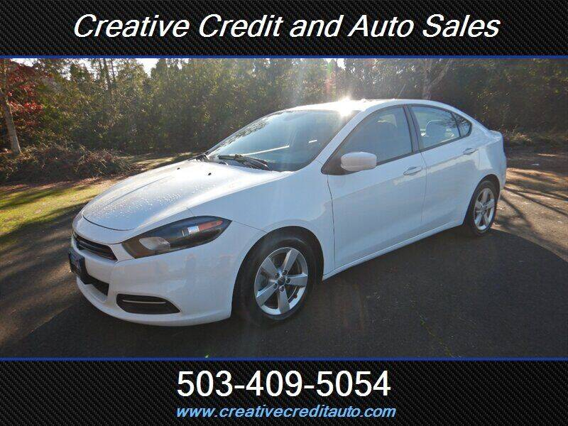 2016 Dodge Dart for sale at Creative Credit & Auto Sales in Salem OR