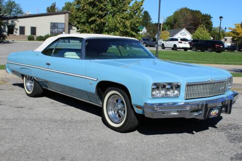 1975 Chevrolet Caprice for sale at Great Lakes Classic Cars & Detail Shop in Hilton NY