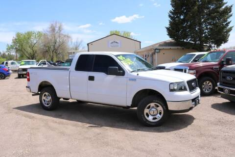 2005 Ford F-150 for sale at Northern Colorado auto sales Inc in Fort Collins CO