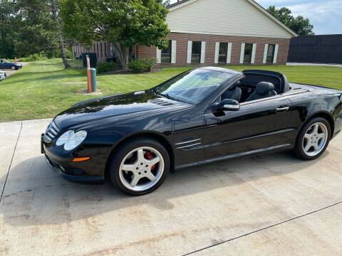 2003 Mercedes-Benz SL-Class for sale at Renaissance Auto Network in Warrensville Heights OH