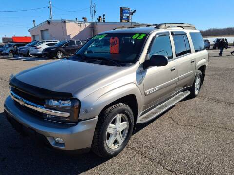 2003 Chevrolet TrailBlazer for sale at River Motors in Portage WI