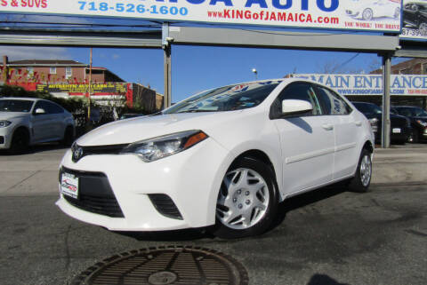 2014 Toyota Corolla for sale at MIKEY AUTO INC in Hollis NY