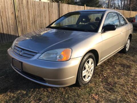 2003 Honda Civic for sale at ALL Motor Cars LTD in Tillson NY