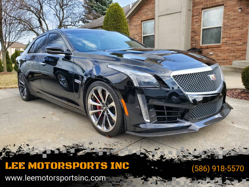 2016 Cadillac CT6-V for sale at LEE MOTORSPORTS INC in Mount Clemens MI