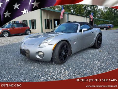 2006 Pontiac Solstice for sale at Honest John's Used Cars in Deridder LA