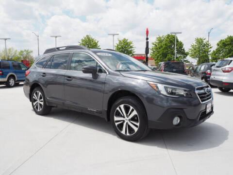 2019 Subaru Outback for sale at SIMOTES MOTORS in Minooka IL