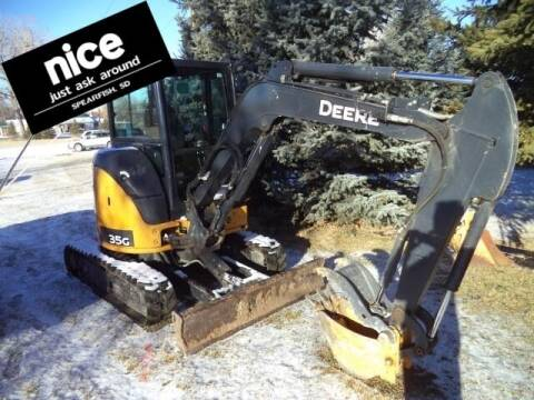 2014 John Deere 35G for sale at PRESTIGE AUTO SALES in Spearfish SD