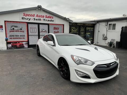 2013 Hyundai Genesis Coupe for sale at Speed Auto Sales in El Cajon CA