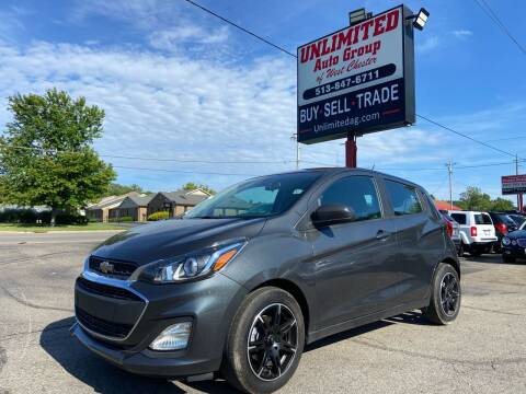 2020 Chevrolet Spark for sale at Unlimited Auto Group in West Chester OH