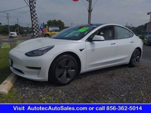 2021 Tesla Model 3 for sale at Autotec Auto Sales in Vineland NJ