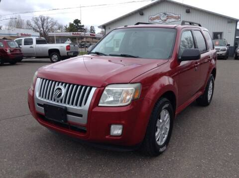 2010 Mercury Mariner for sale at Steves Auto Sales in Cambridge MN