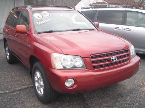 2003 Toyota Highlander for sale at Autoworks in Mishawaka IN