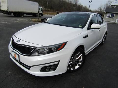2014 Kia Optima for sale at Guarantee Automaxx in Stafford VA