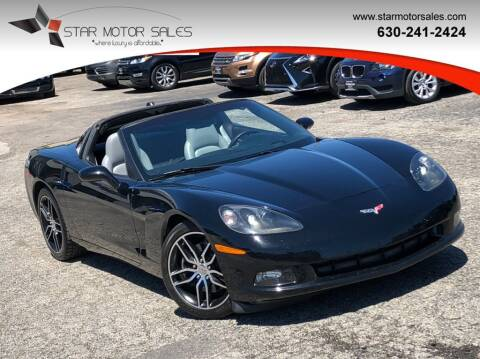 2005 Chevrolet Corvette for sale at Star Motor Sales in Downers Grove IL