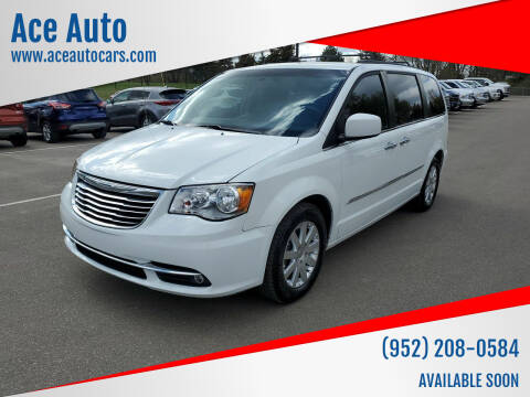 2015 Chrysler Town and Country for sale at Ace Auto in Jordan MN
