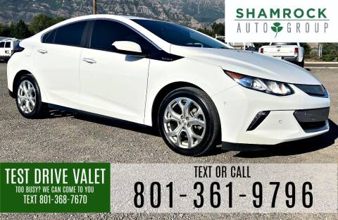 2017 Chevrolet Volt for sale at Shamrock Group LLC #1 in Pleasant Grove UT