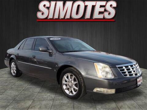 2010 Cadillac DTS for sale at SIMOTES MOTORS in Minooka IL