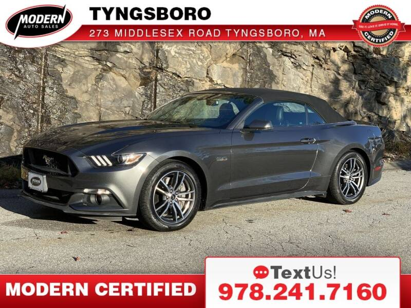 2017 Ford Mustang for sale at Modern Auto Sales in Tyngsboro MA