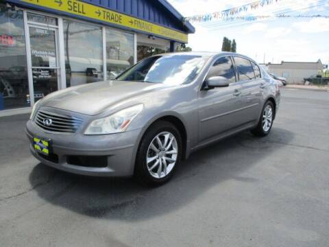 2007 Infiniti G35 for sale at Affordable Auto Rental & Sales in Spokane Valley WA