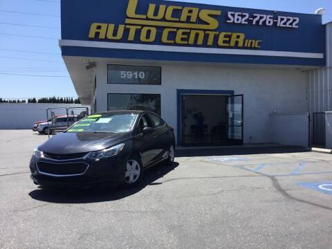 2017 Chevrolet Cruze for sale at Lucas Auto Center in South Gate CA
