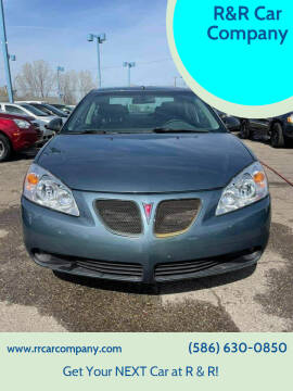 2006 Pontiac G6 for sale at R&R Car Company in Mount Clemens MI