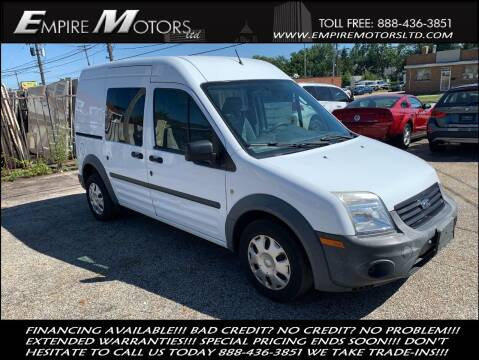 2013 Ford Transit Connect for sale at Empire Motors LTD in Cleveland OH