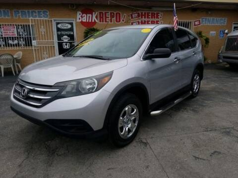 2013 Honda CR-V for sale at VALDO AUTO SALES in Miami FL