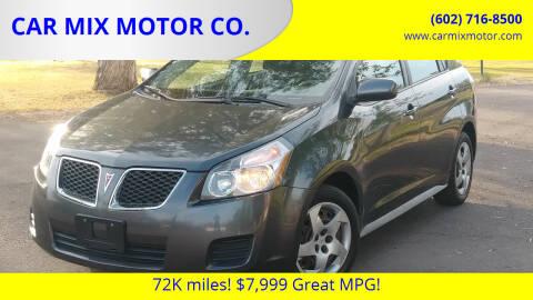 2009 Pontiac Vibe for sale at CAR MIX MOTOR CO. in Phoenix AZ