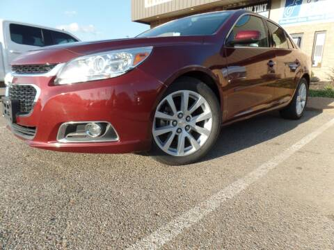 2015 Chevrolet Malibu for sale at Flywheel Motors, llc. in Olive Branch MS