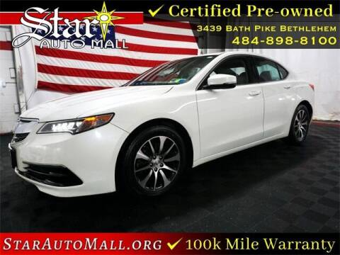 2016 Acura TLX for sale at STAR AUTO MALL 512 in Bethlehem PA