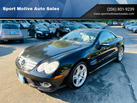 2007 Mercedes-Benz SL-Class for sale at Sport Motive Auto Sales in Seattle WA