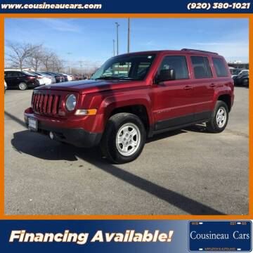 2014 Jeep Patriot for sale at CousineauCars.com in Appleton WI
