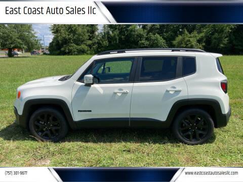 2018 Jeep Renegade for sale at East Coast Auto Sales llc in Virginia Beach VA
