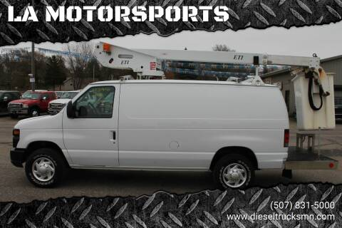 2011 Ford E-Series Cargo for sale at LA MOTORSPORTS in Windom MN