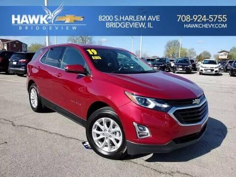 2019 Chevrolet Equinox for sale at Hawk Chevrolet of Bridgeview in Bridgeview IL