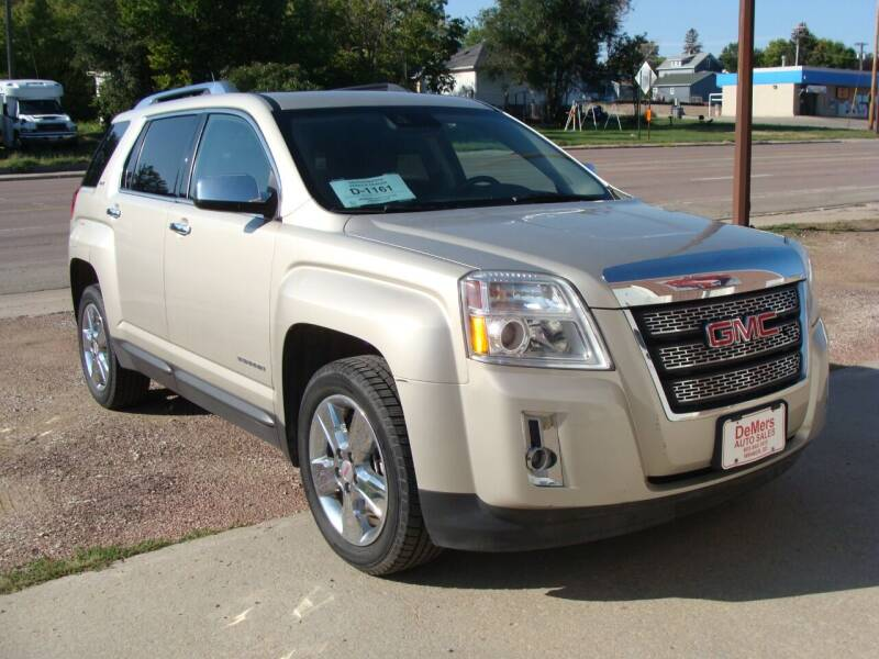 2015 GMC Terrain for sale at DeMers Auto Sales in Winner SD