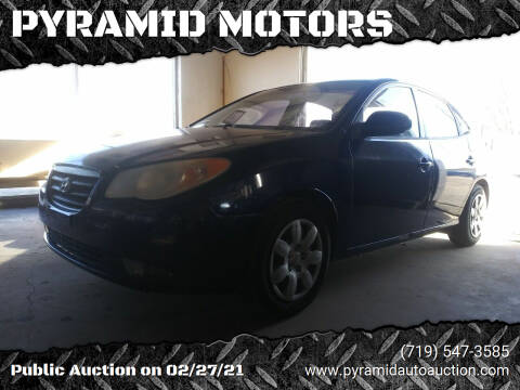 2007 Hyundai Elantra for sale at PYRAMID MOTORS - Pueblo Lot in Pueblo CO