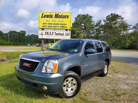 2008 GMC Yukon for sale at Lewis Motors LLC in Deridder LA