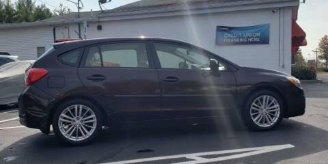 2012 Subaru Impreza for sale at Healey Auto in Rochester NH