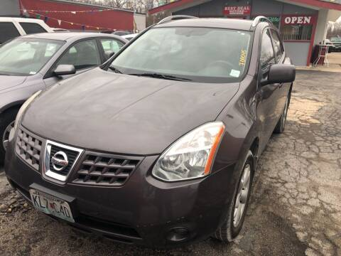 2008 Nissan Rogue for sale at Best Deal Motors in Saint Charles MO