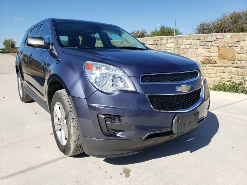 2013 Chevrolet Equinox for sale at Hi-Tech Automotive - Kyle in Kyle TX