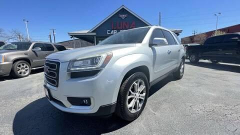 2014 GMC Acadia for sale at LUNA CAR CENTER in San Antonio TX