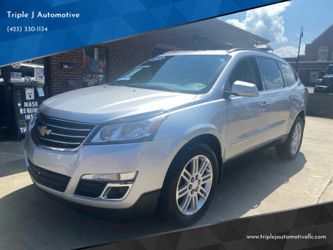2015 Chevrolet Traverse for sale at Triple J Automotive in Erwin TN