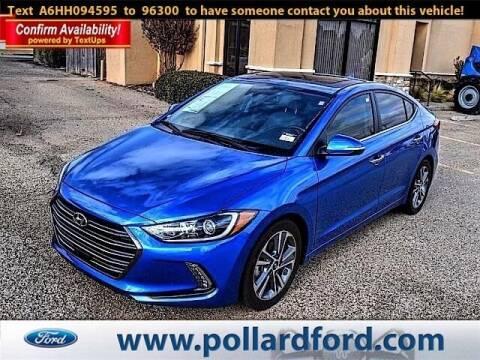 2017 Hyundai Elantra for sale at South Plains Autoplex by RANDY BUCHANAN in Lubbock TX